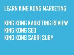 King Kong Marketing