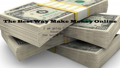 The Best Way to Make Money Online