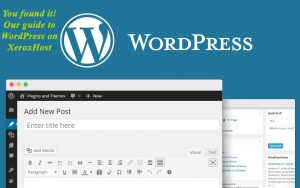 WordPress on XeroxHost